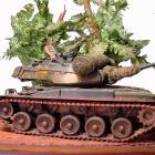 Soldado en Carro de Combate en Vietnan