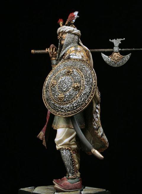 Guerrero Moghul Siglo XVII-XVIII - Escala 75mm
