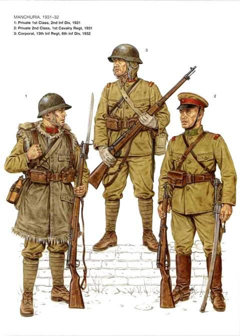 Uniformes de la Segunda Guerra Mundial