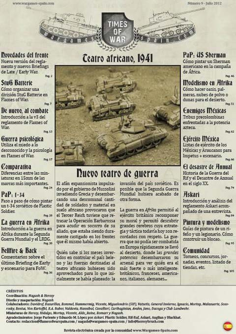 Revista Times of War 09