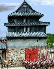 Samurais en Armas 1550 - 1615. El Castillo.