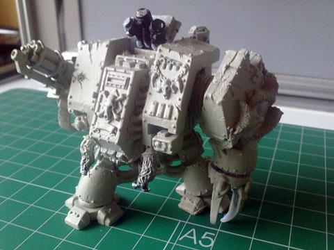 Proyecto Dreadnought de los  Lobos Espaciales - Escala 28mm.