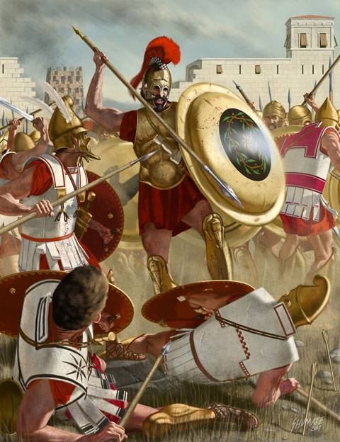Falanges Grecomacedónicas de Alejandro Magno