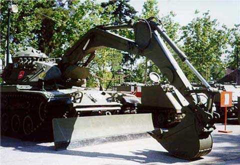 Vehículo Blindado de Zapadores M- 60 Alacran- Escala 1/35