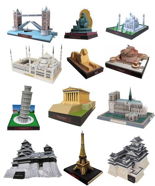 Miniaturas JM » Recortables de Papel » Recortables de Edificios ...