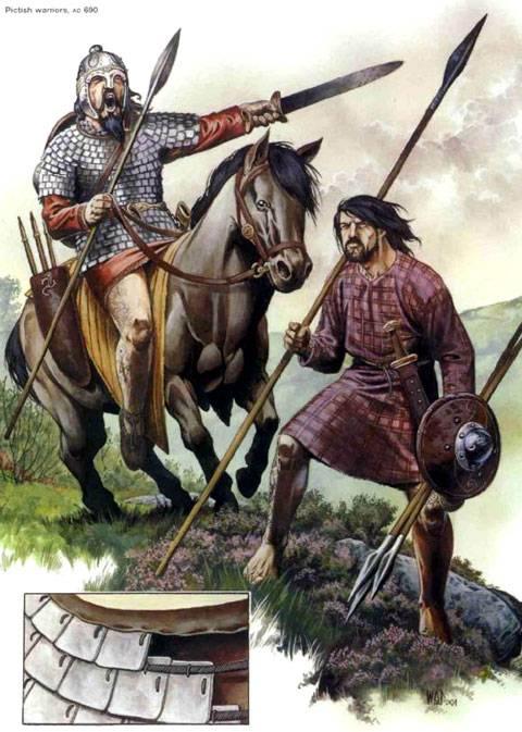 Guerreros Pictos AD 600