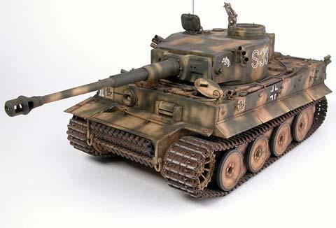 Tiger I - Version Early - Escala 1/35